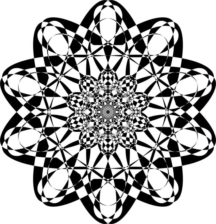 Symmetry,Blackandwhite,Ornament