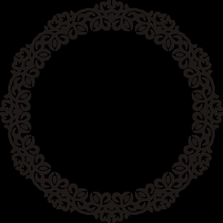 Doily,Oval,Circle
