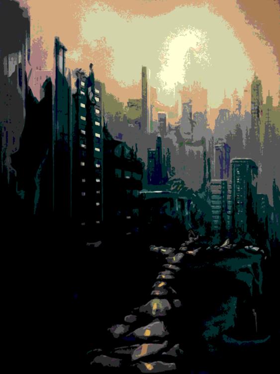 City,Metropolis,Art