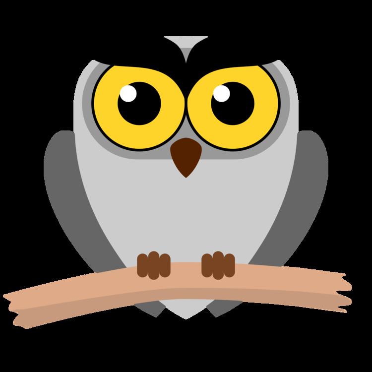 Owl,Cartoon,Snowy Owl