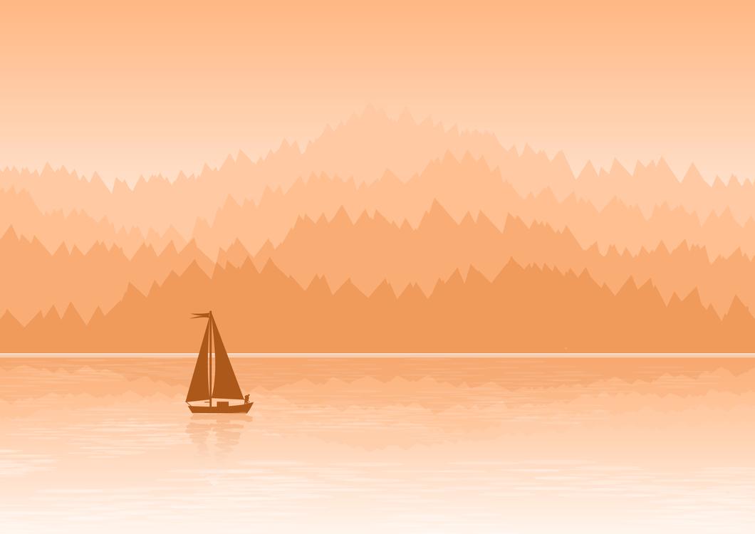 Landscape,Watercraft,Art