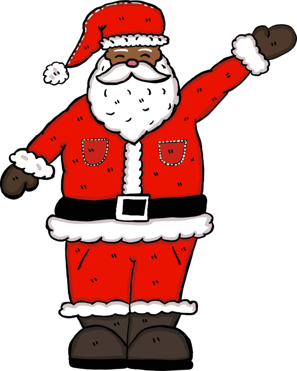 Cartoon,Fictional Character,Santa Claus