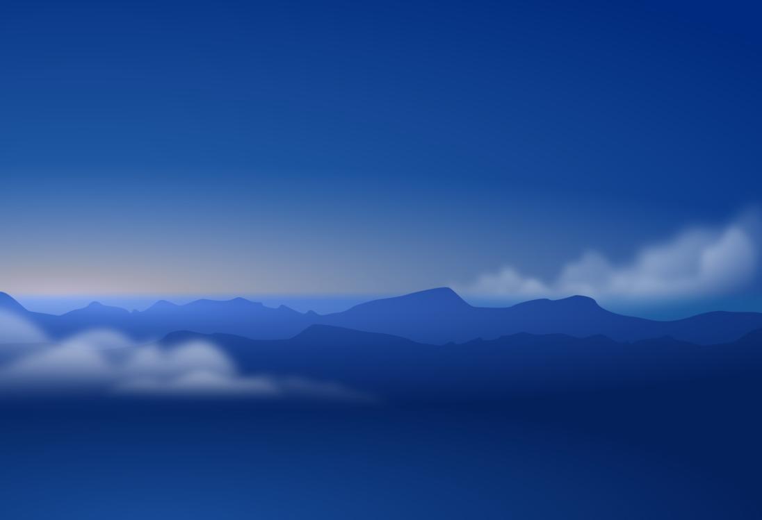 Blue,Mountain,Mountain Range