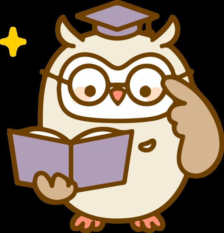 Line Art,Owl,Cartoon