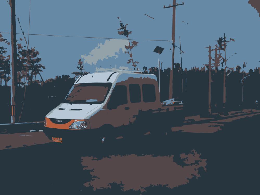 Minibus,Van,Public Transport