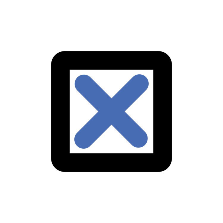 Check mark Computer Icons Checkbox Symbol CC0 - Electric Blue,Square