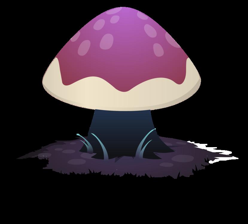 Mushroom,Purple,Violet