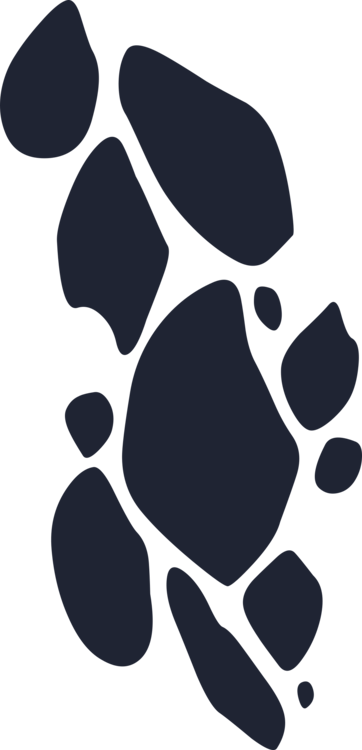Paw,Blackandwhite,Footprint