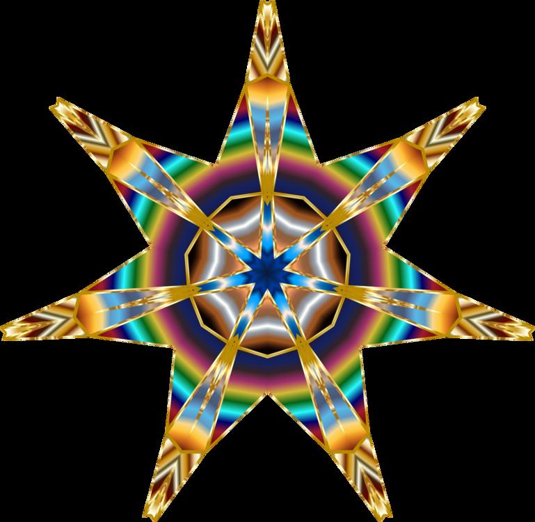 Fractal Art,Star,Symmetry