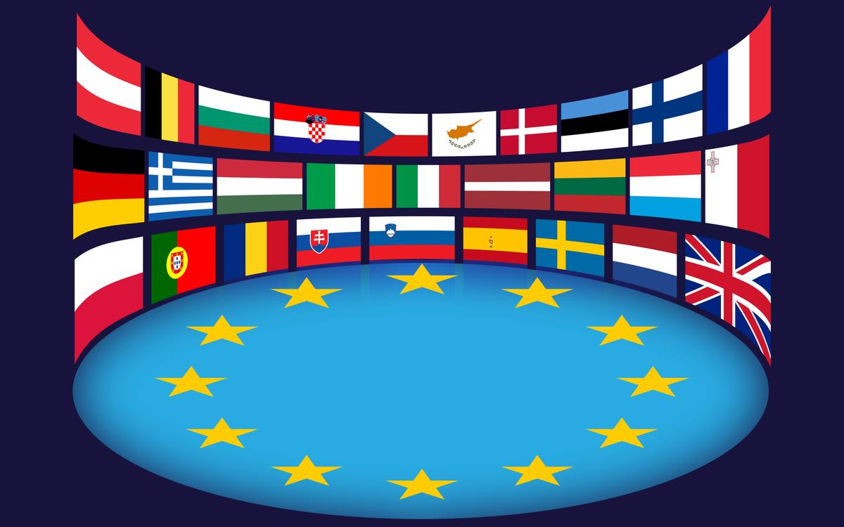 Flag,European Union,Flag Of Europe