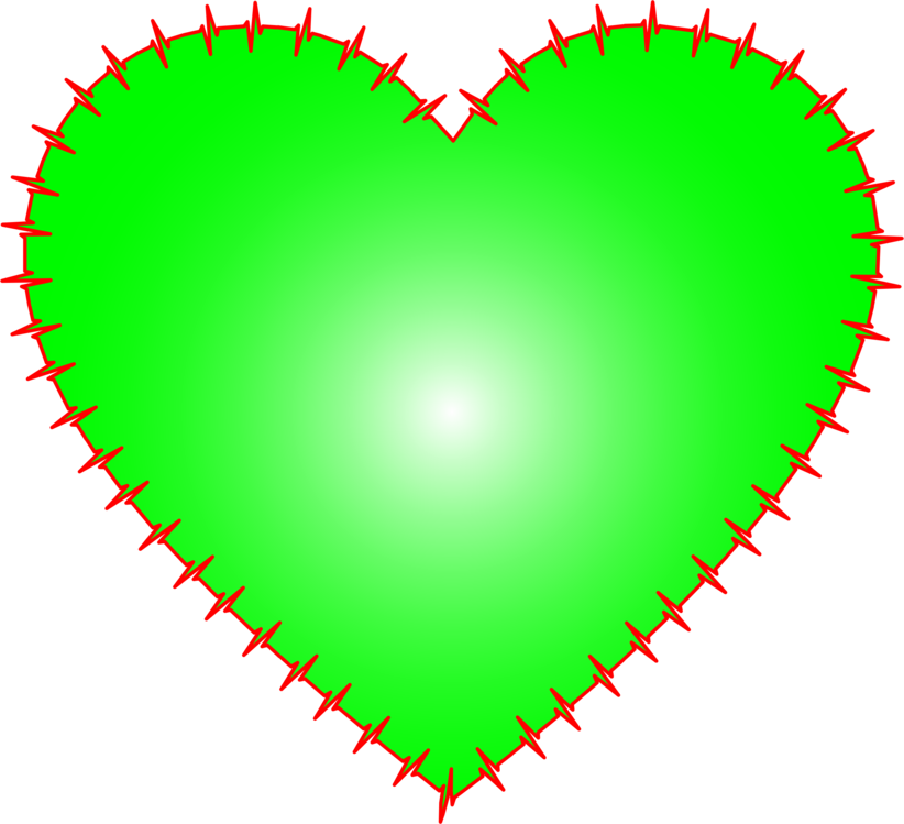 Heart,Symbol,Green