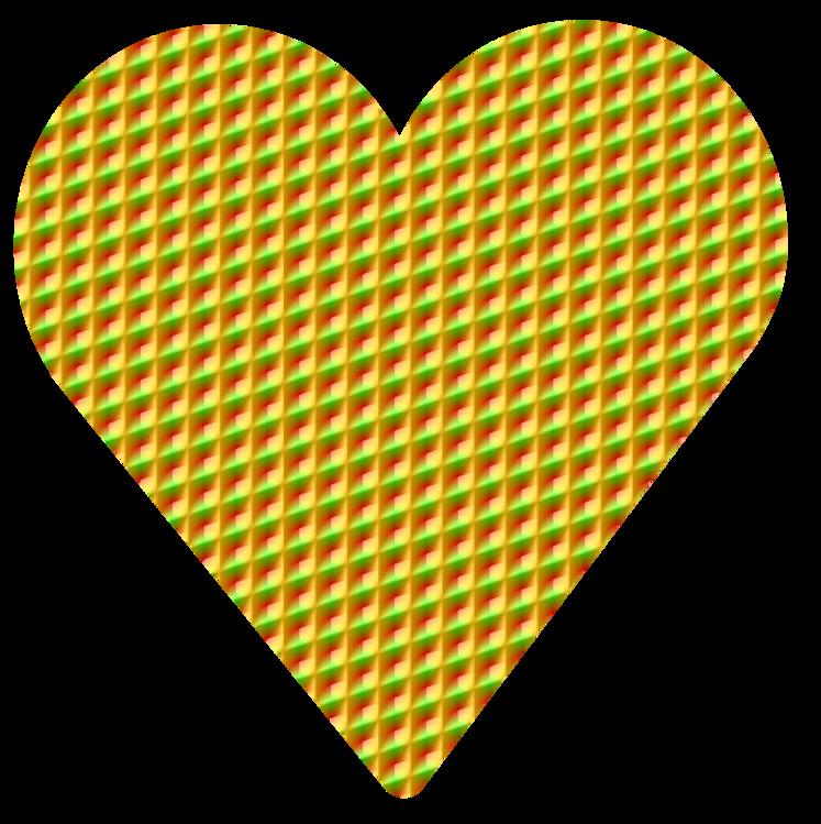 Heart,Leaf,Yellow