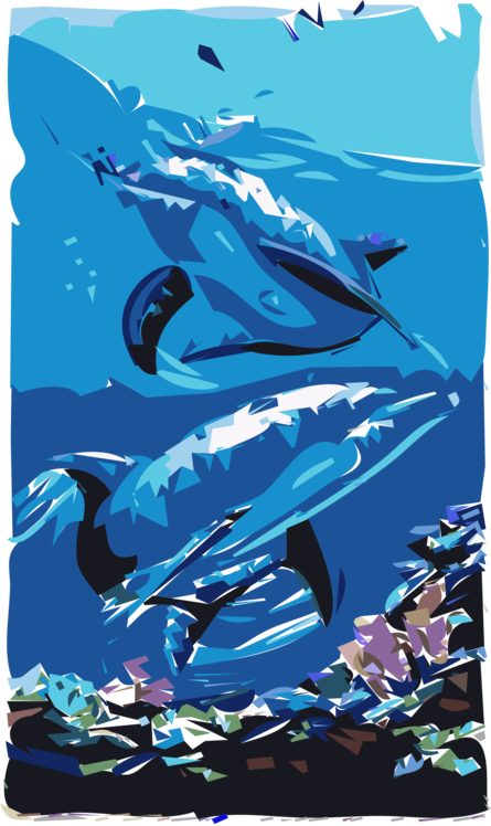 Marine Biology,Electric Blue,Wholphin