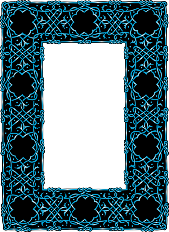 Blue,Picture Frame,Rectangle