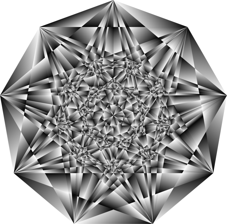 Diamond,Symmetry,Blackandwhite