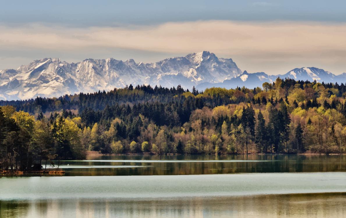Mountain,Mountain Range,Tarn