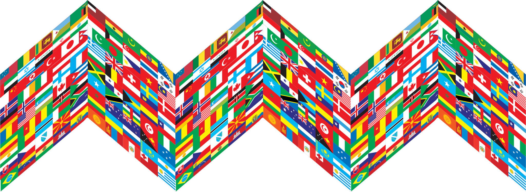 Line,Symmetry,Flag