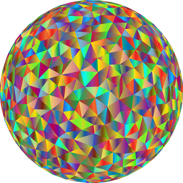 Circle,Sphere,Low Poly