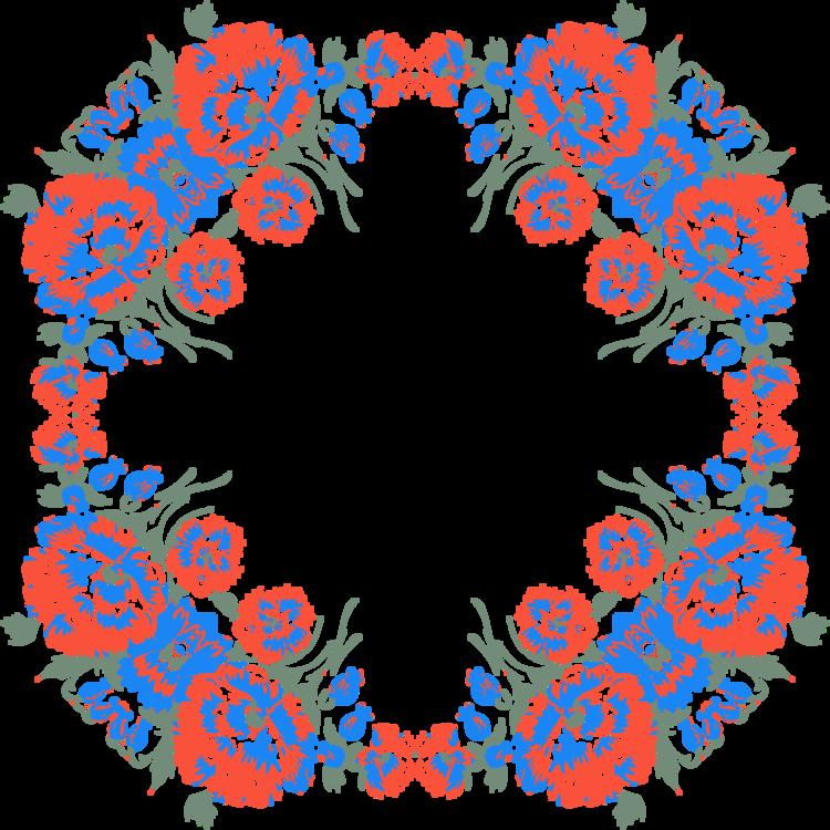 Symmetry,Ornament,Floral Design