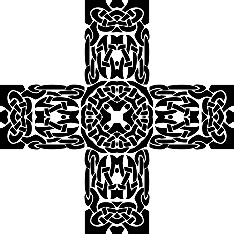 Blackandwhite,Symbol,Cross