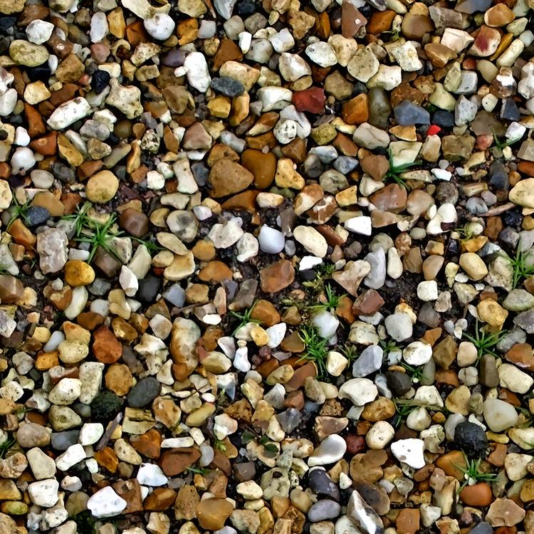 Mixture,Pebble,Gravel