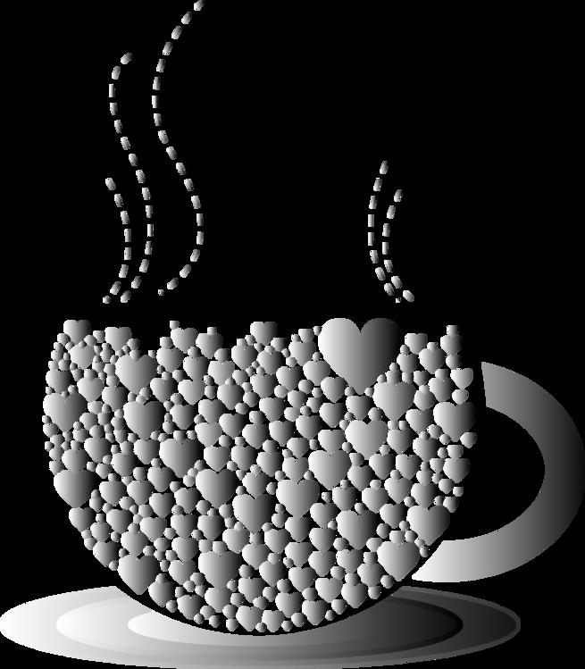 Blackandwhite,Circle,Coffee