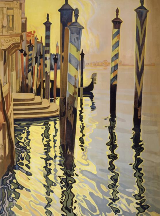 Visual Arts,Art,Gondola