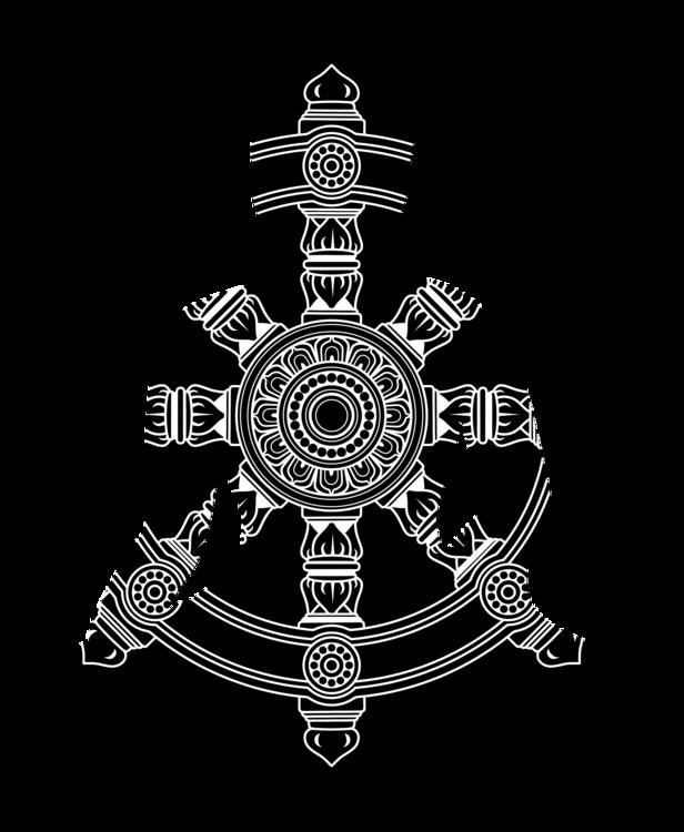 Symbol,Buddhism,Dharmachakra