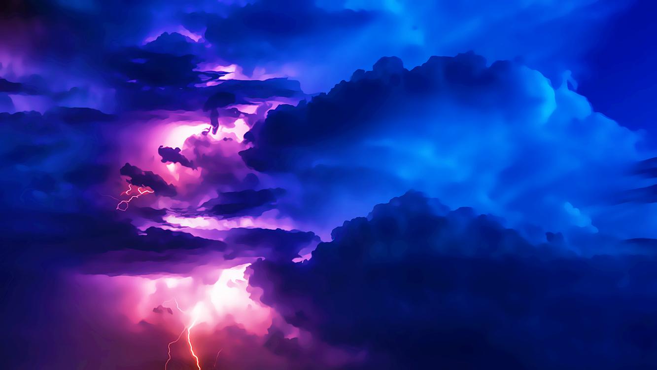 Blue,Darkness,Space