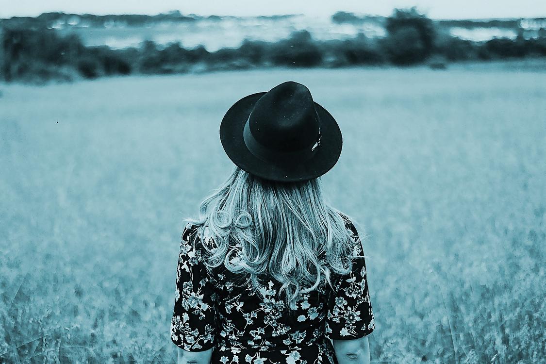 Blue,Sky,Hat
