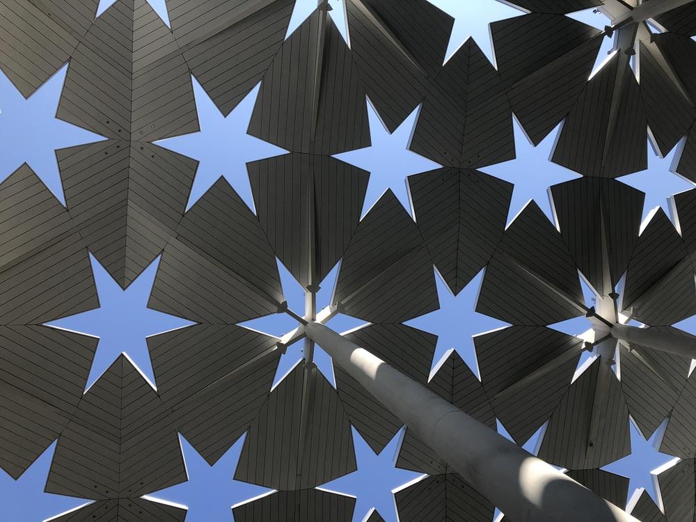 Blue,Symmetry,Star