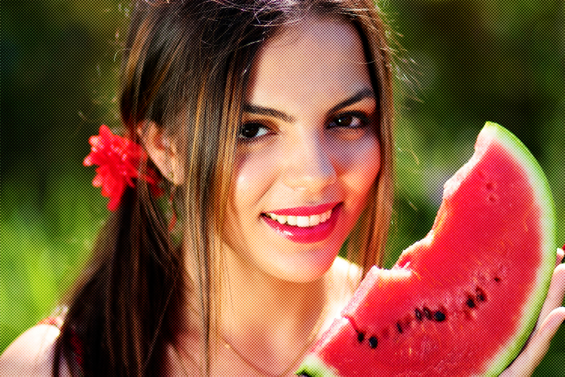 Watermelon,Lip,Beauty