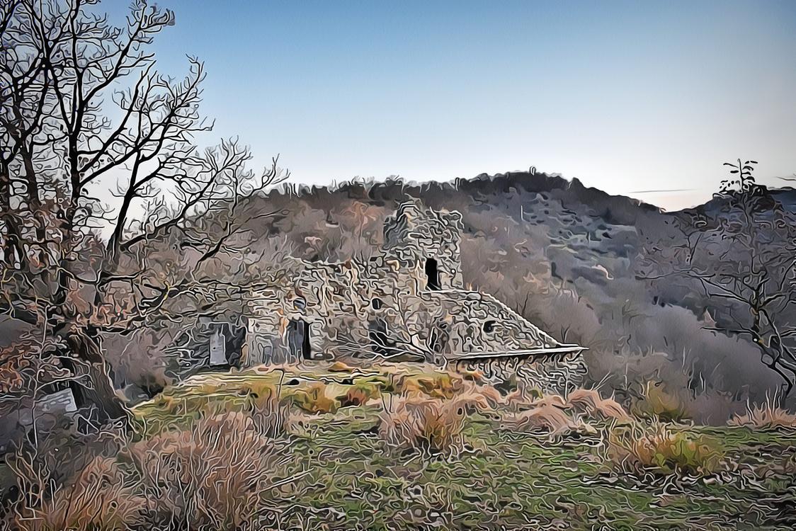 Ruins,Natural Landscape,Ancient History