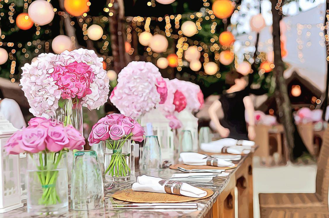 Pink,Centrepiece,Flower