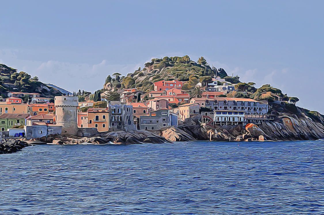 Town,Coast,Sea