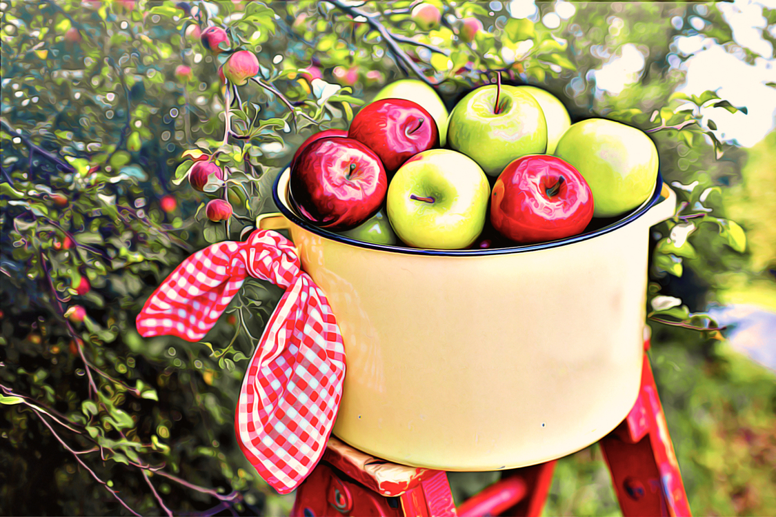 Natural Foods,Apple,Fruit