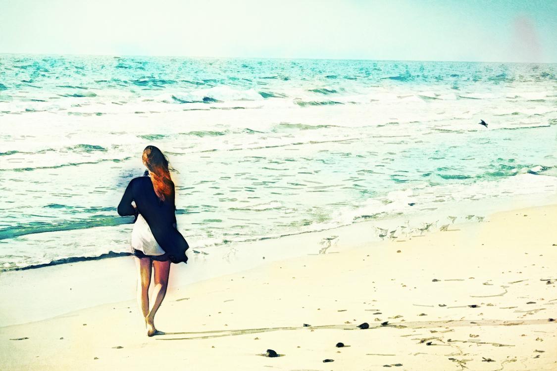 People On Beach,People In Nature,Sea