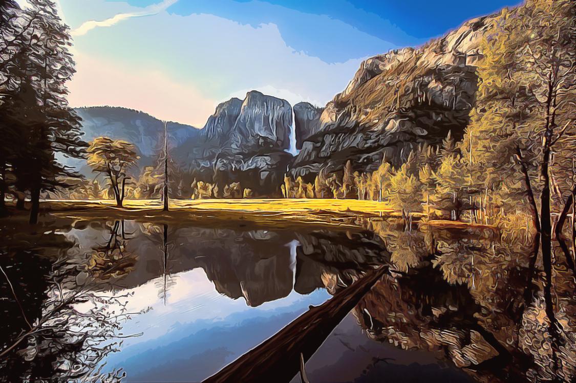 Natural Landscape,Reflection,Nature