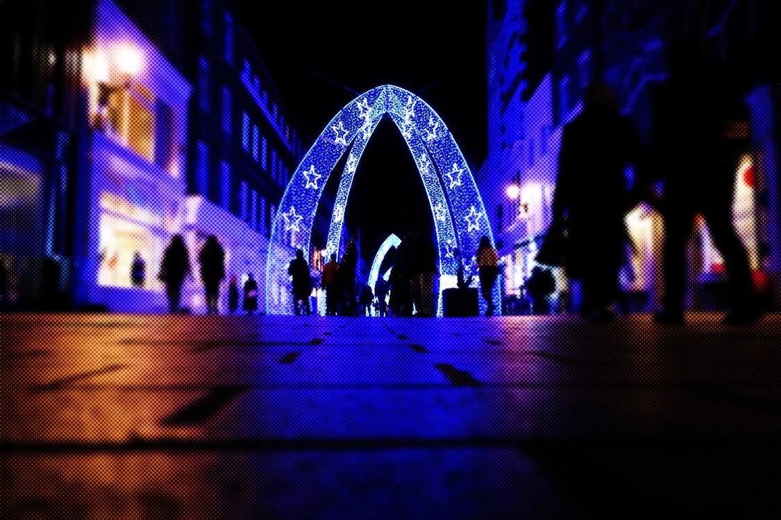 Blue,Light,Landmark