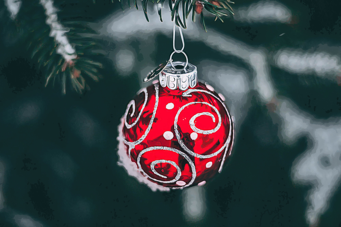 Christmas Ornament,Red,Christmas Decoration