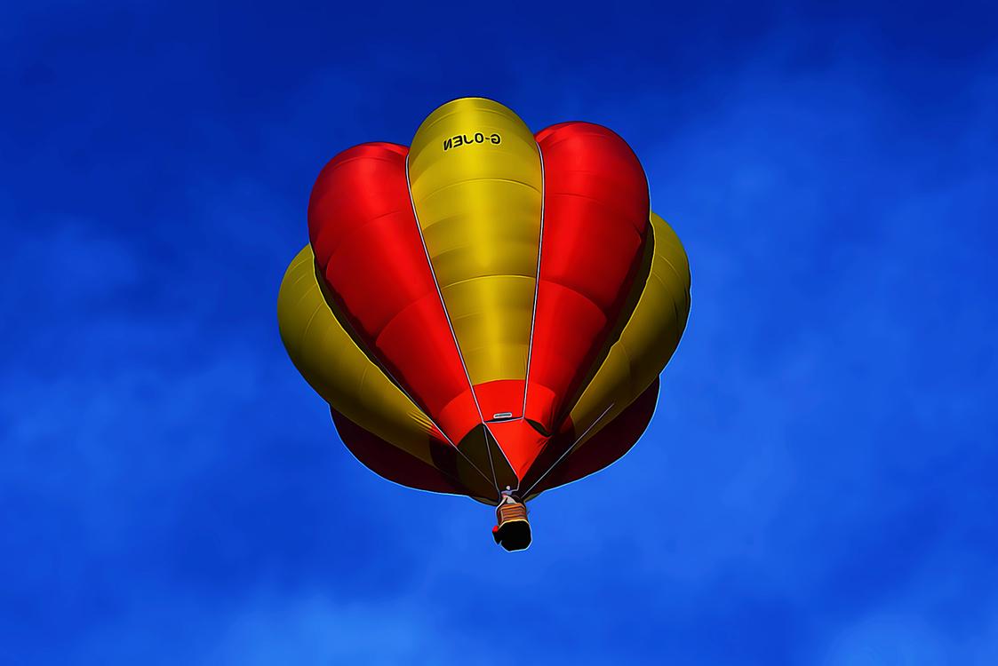 Hot Air Ballooning,Hot Air Balloon,Daytime