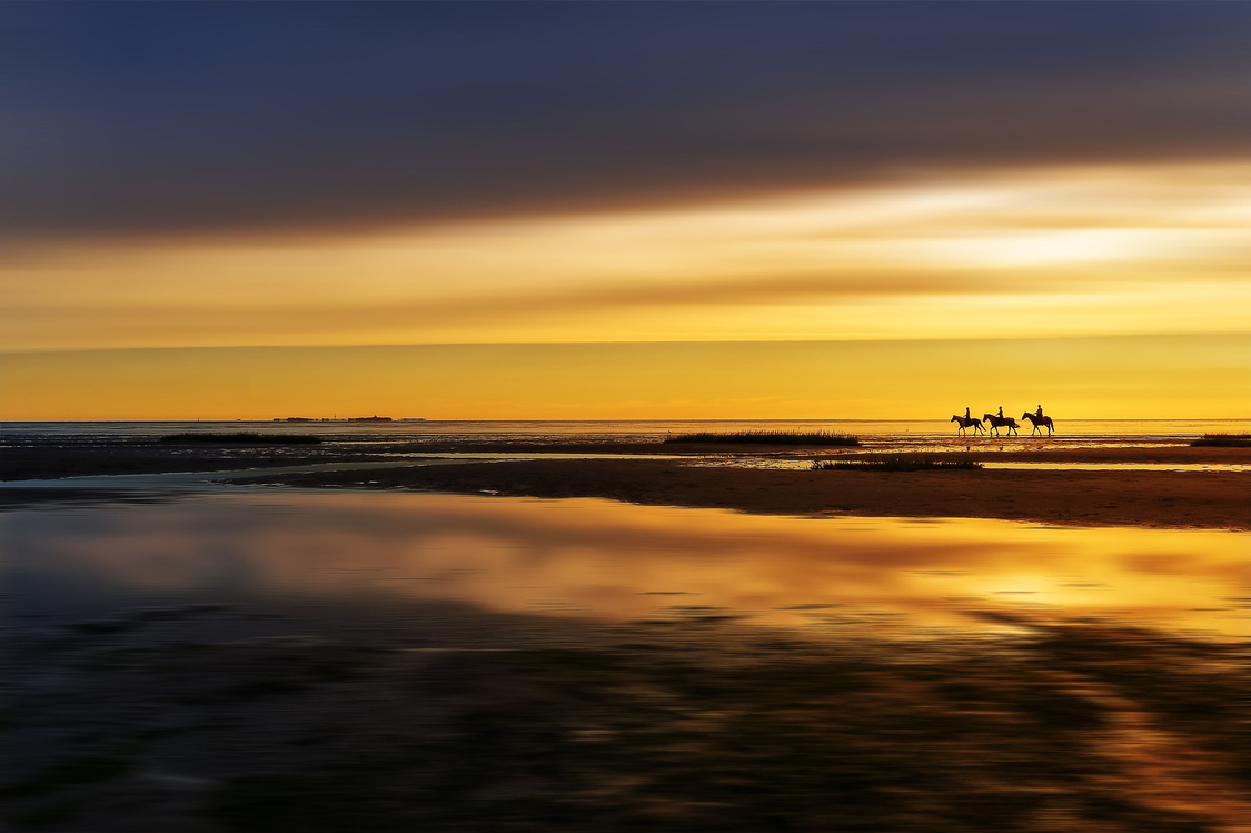 Sky,Horizon,Sea