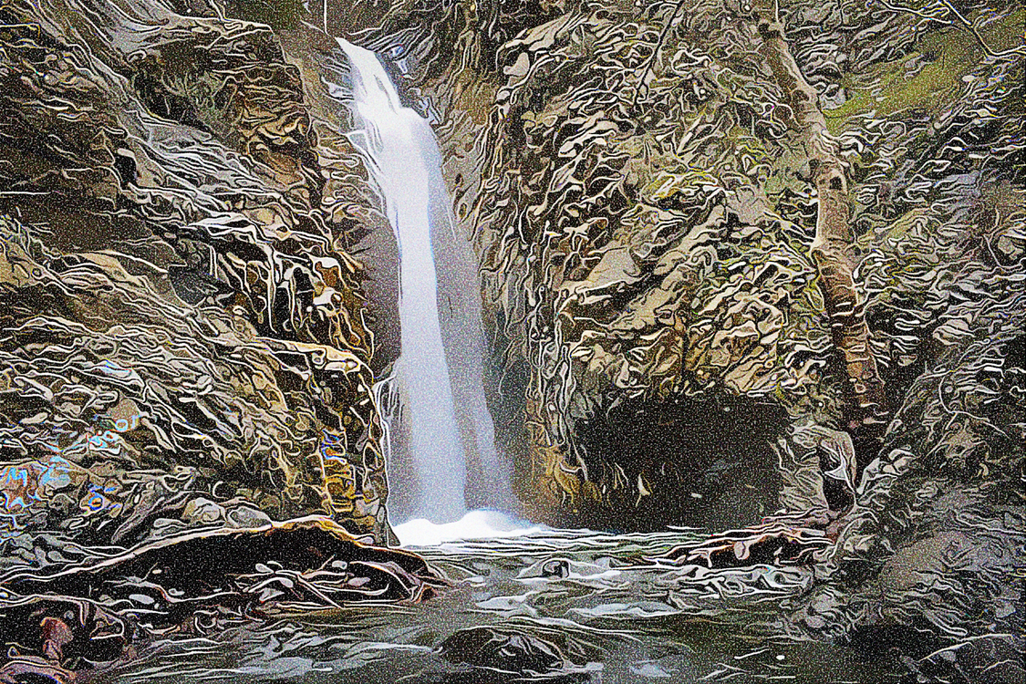 Waterfall,Body Of Water,Water Resources