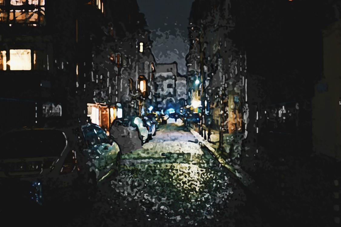 Darkness,Night,Urban Area