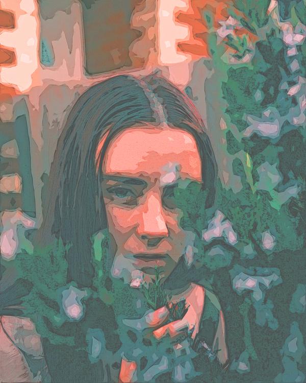 Portrait,Painting,Modern Art