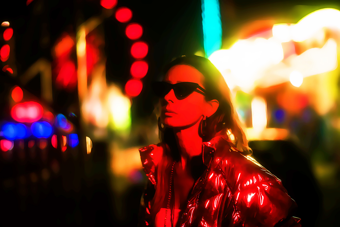 Red,Eyewear,Light