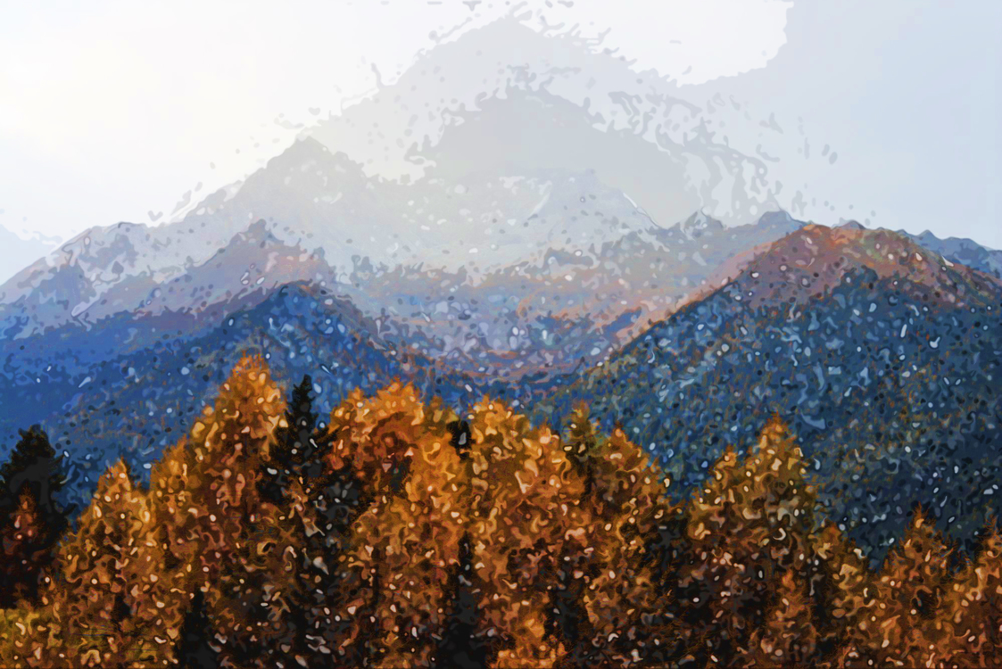 Mountainous Landforms,Mountain,Nature